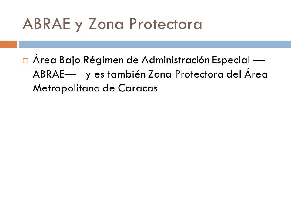 ABRAE y Zona Protectora