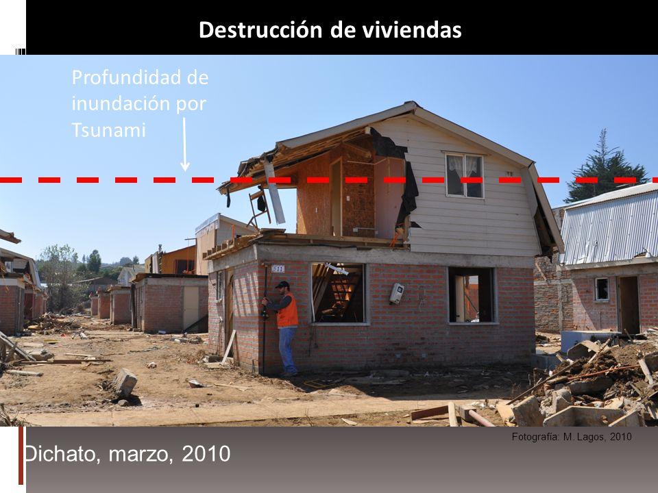 Destrucción de viviendas