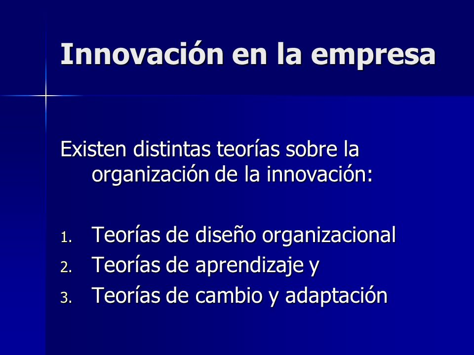Innovación en la empresa