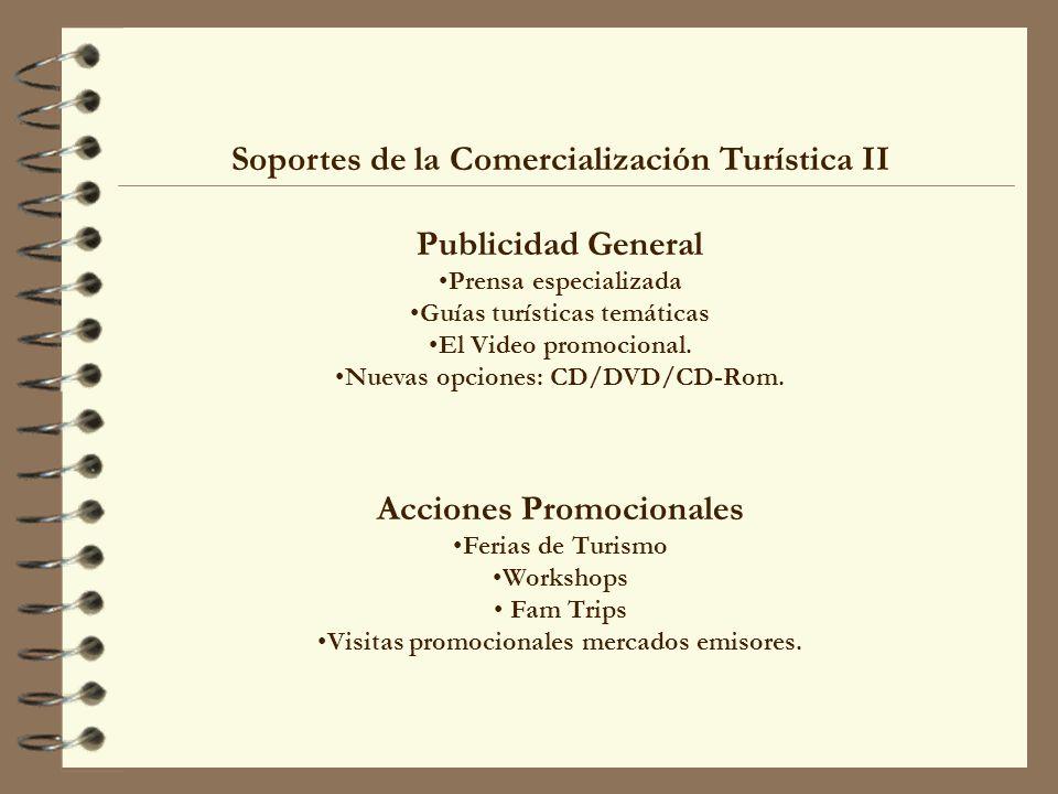 Soportes de la Comercialización Turística II Publicidad General