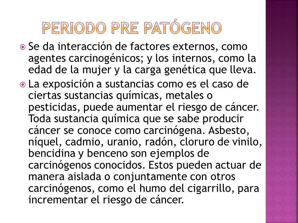Periodo pre patógeno