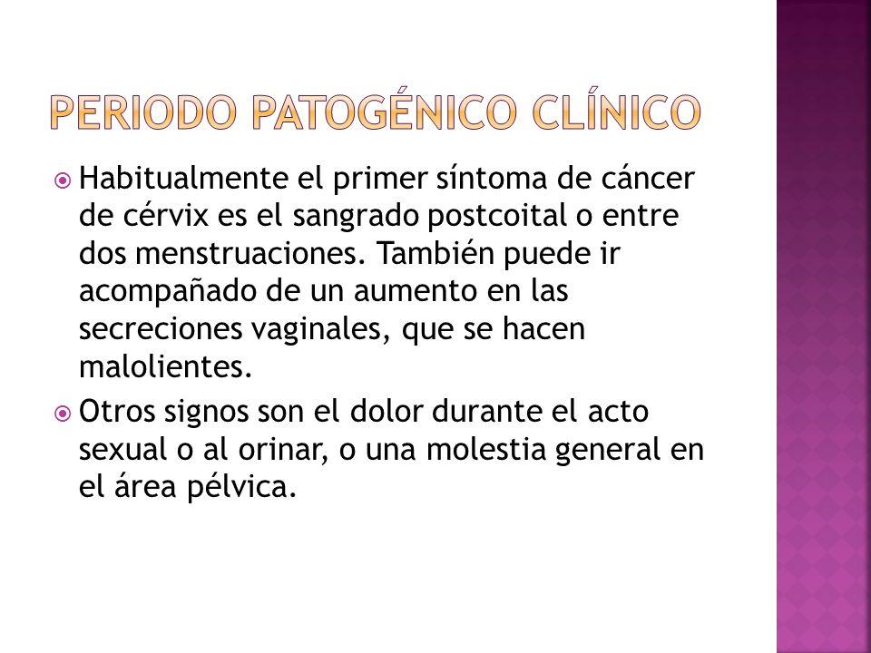 Periodo patogénico clínico