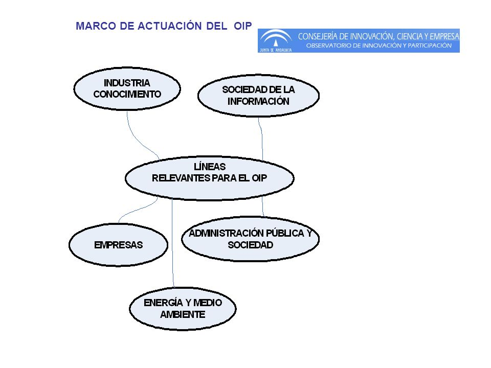 MARCO DE ACTUACIÓN DEL OIP