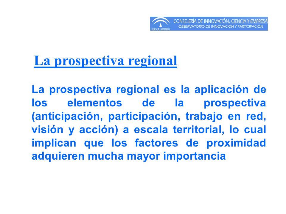 La prospectiva regional
