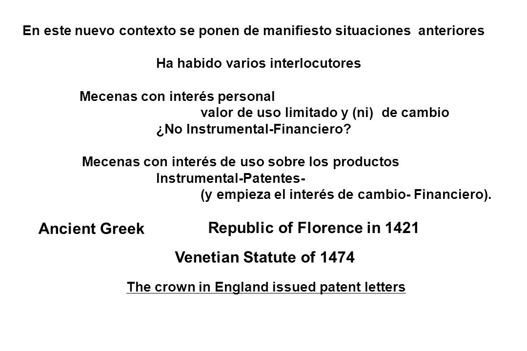 Ancient Greek Republic of Florence in 1421 Venetian Statute of 1474