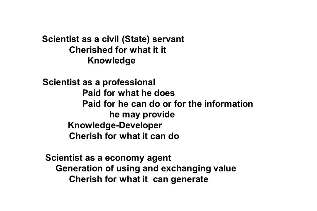 Cherished for what it it Knowledge Scientist as a professional