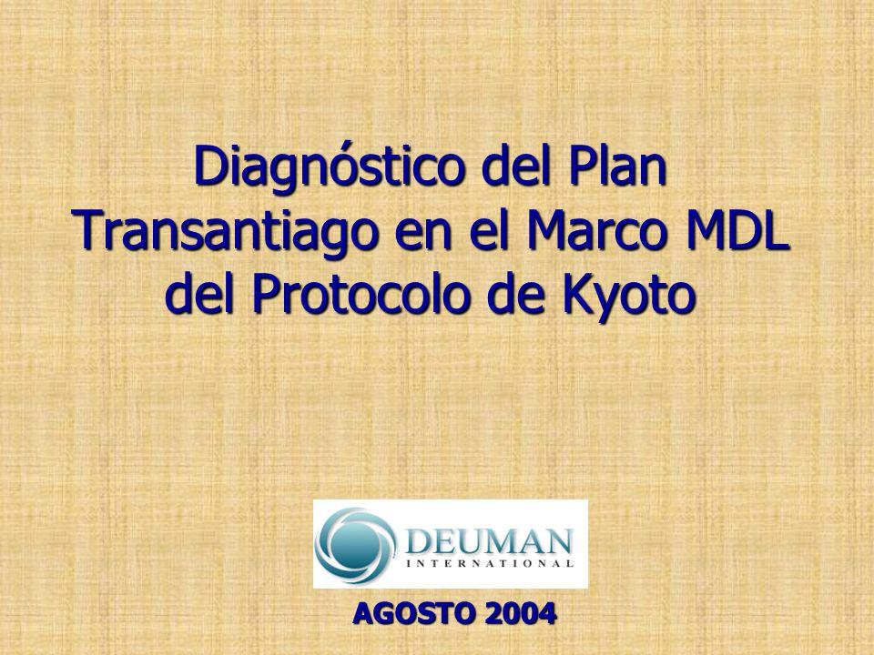 Diagnóstico del Plan Transantiago en el Marco MDL del Protocolo de Kyoto