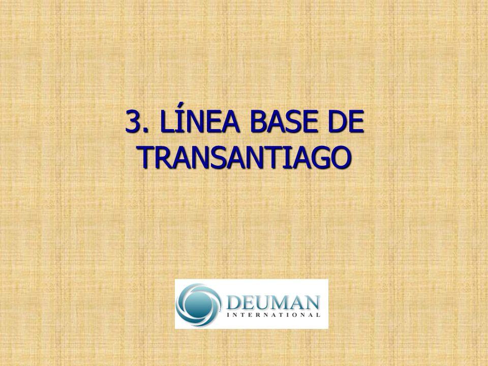 3. LÍNEA BASE DE TRANSANTIAGO