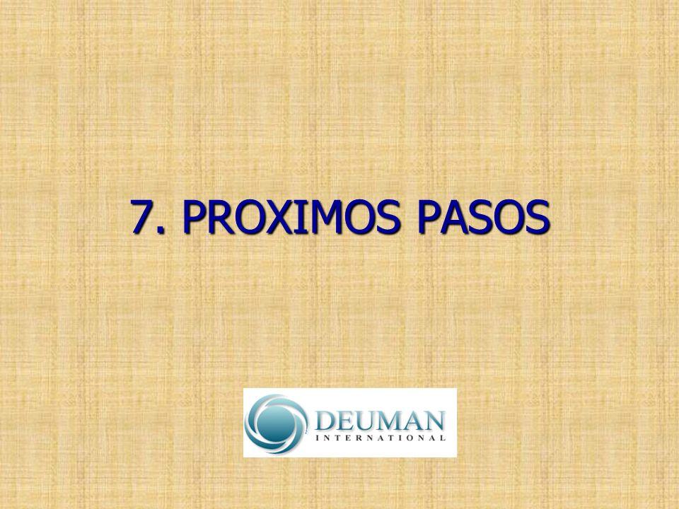 7. PROXIMOS PASOS