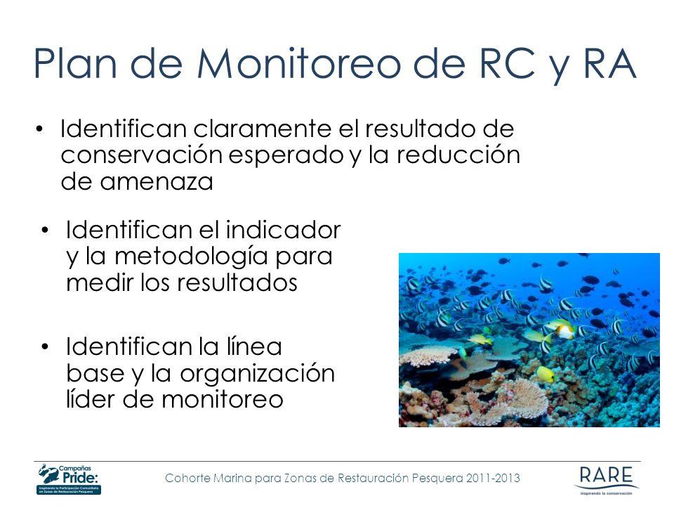 Plan de Monitoreo de RC y RA