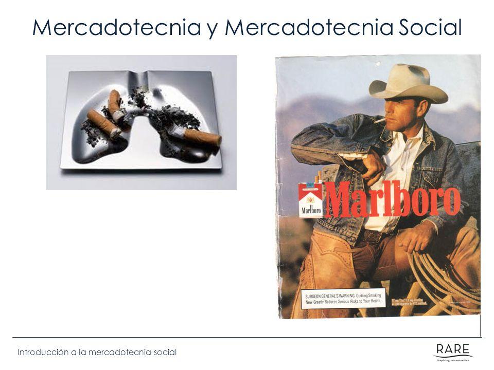 Mercadotecnia y Mercadotecnia Social