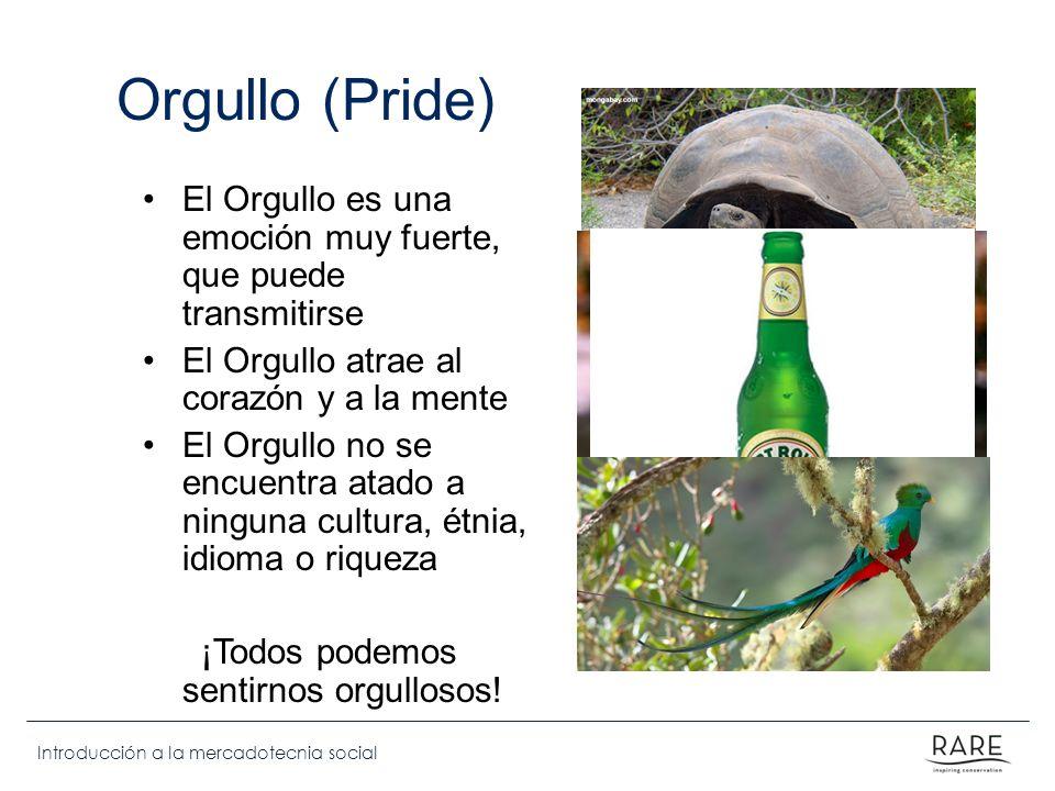Orgullo (Pride) El Orgullo es una emoción muy fuerte, que puede transmitirse. El Orgullo atrae al corazón y a la mente.