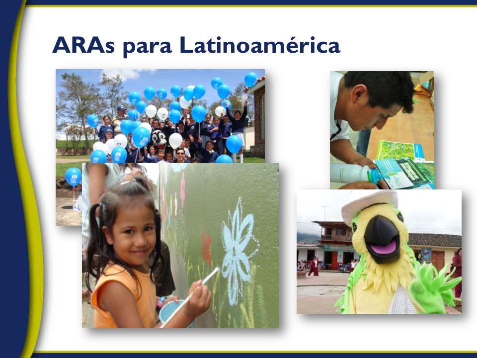 ARAs para Latinoamérica