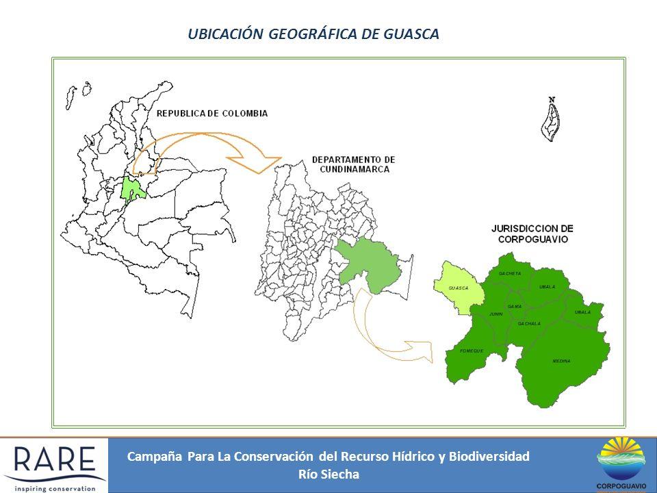 UBICACIÓN GEOGRÁFICA DE GUASCA