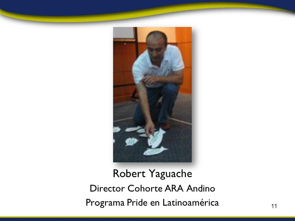 Robert Yaguache Director Cohorte ARA Andino