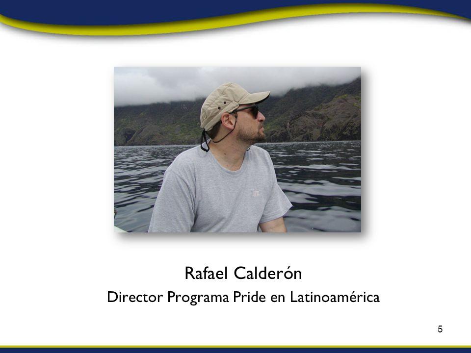 Rafael Calderón Director Programa Pride en Latinoamérica