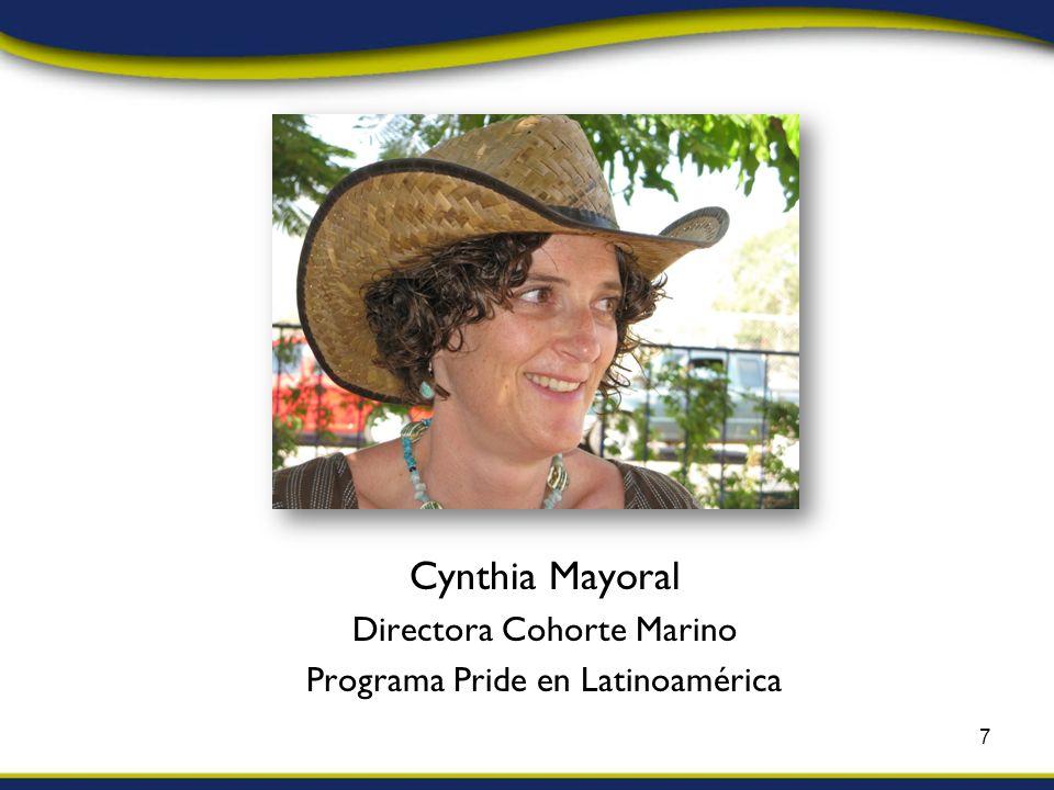 Cynthia Mayoral Directora Cohorte Marino