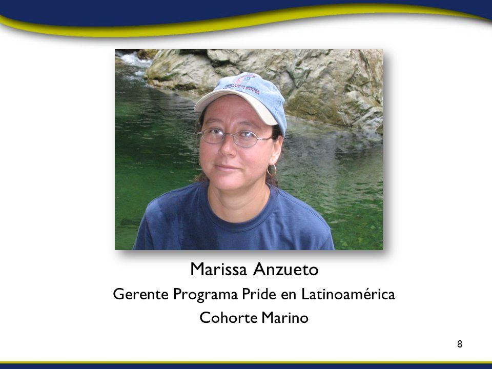 Marissa Anzueto Gerente Programa Pride en Latinoamérica Cohorte Marino