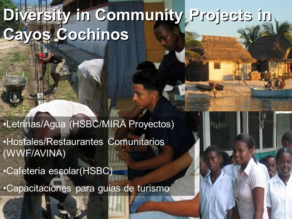 Diversity in Community Projects in Cayos Cochinos