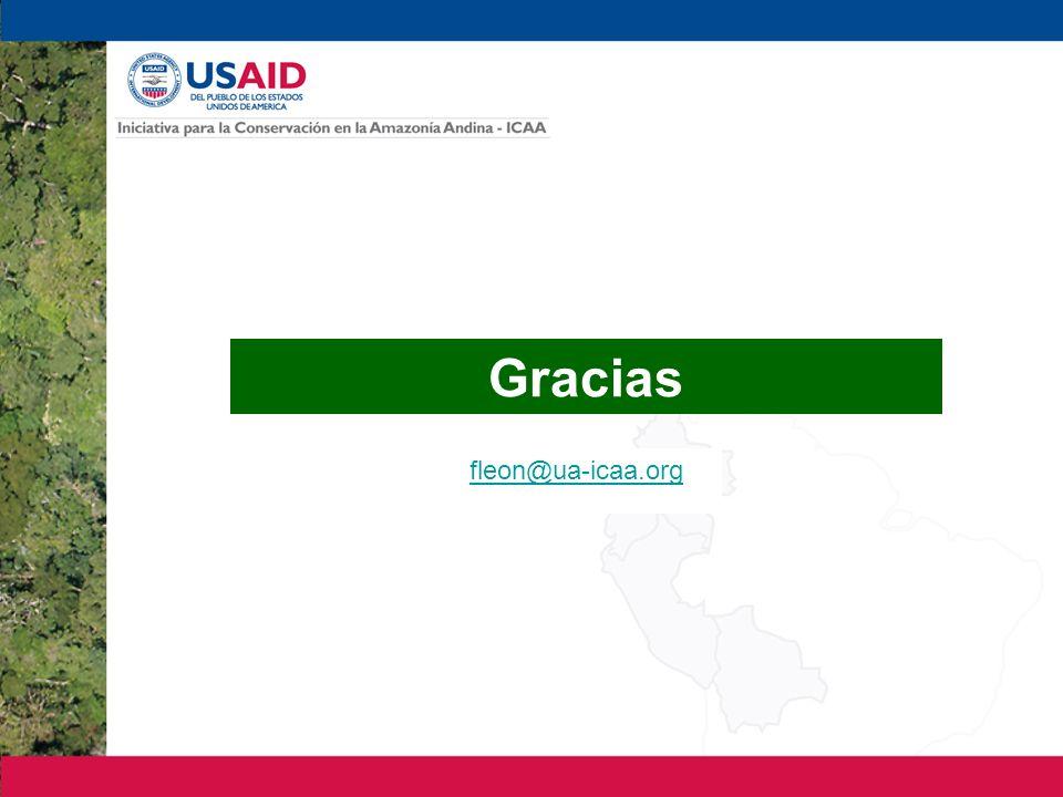 Gracias fleon@ua-icaa.org 20