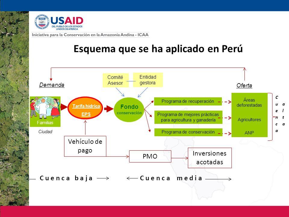 Esquema que se ha aplicado en Perú