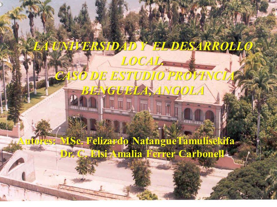 LA UNIVERSIDAD Y EL DESARROLLO LOCAL.