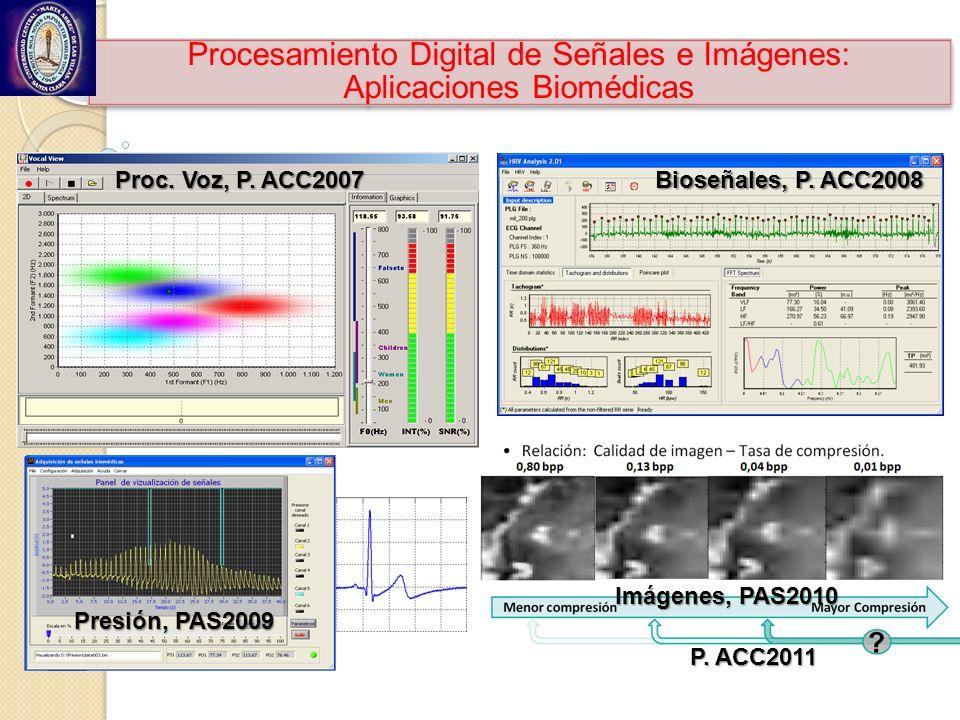 Procesamiento Digital de Señales e Imágenes: Aplicaciones Biomédicas