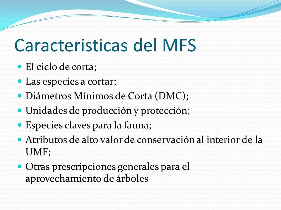 Caracteristicas del MFS