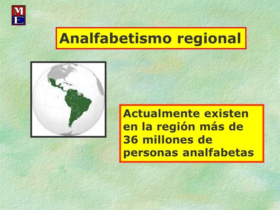 Analfabetismo regional