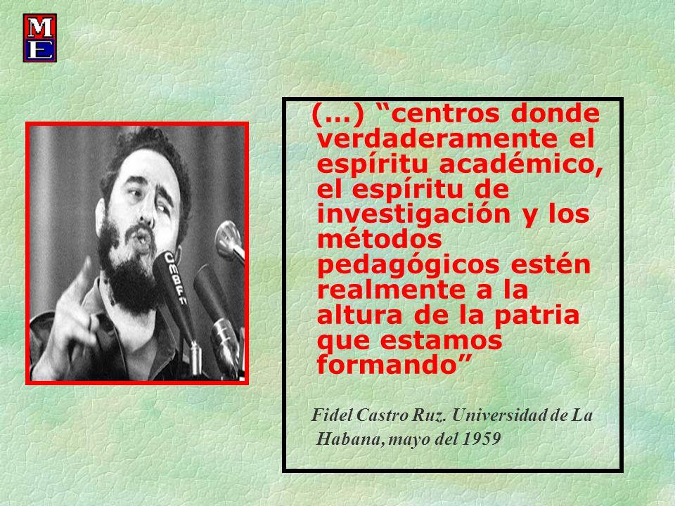 Fidel Castro Ruz. Universidad de La Habana, mayo del 1959