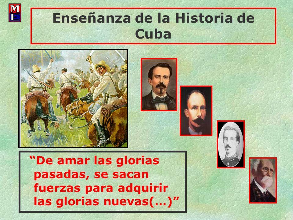 Enseñanza de la Historia de Cuba