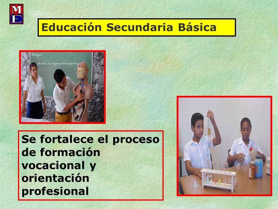 Educación Secundaria Básica