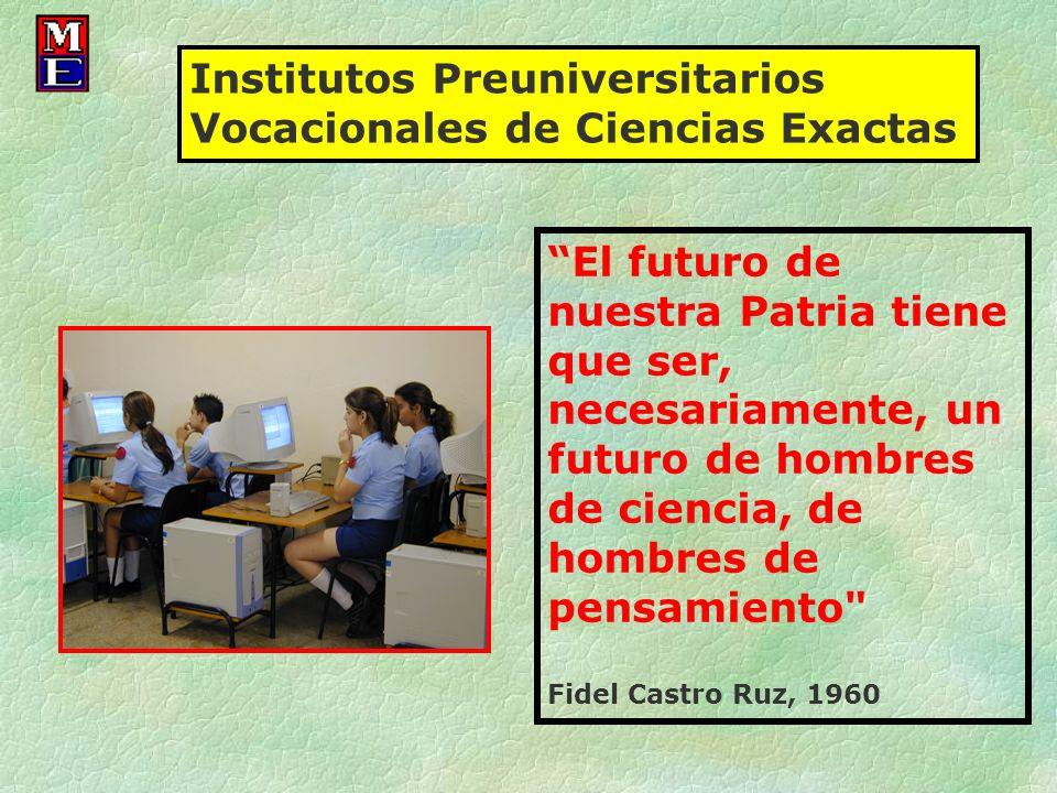 Institutos Preuniversitarios Vocacionales de Ciencias Exactas
