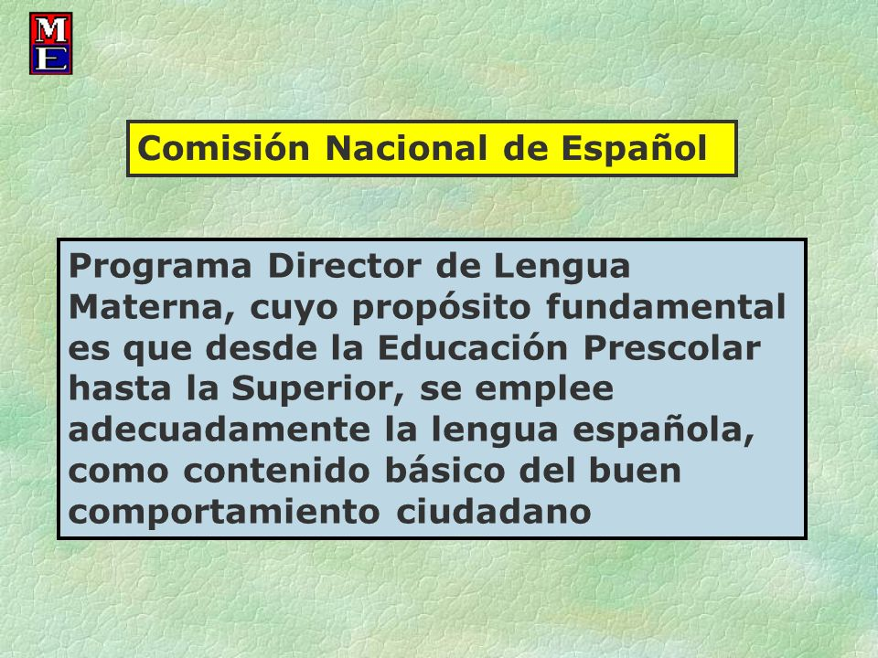 Comisión Nacional de Español