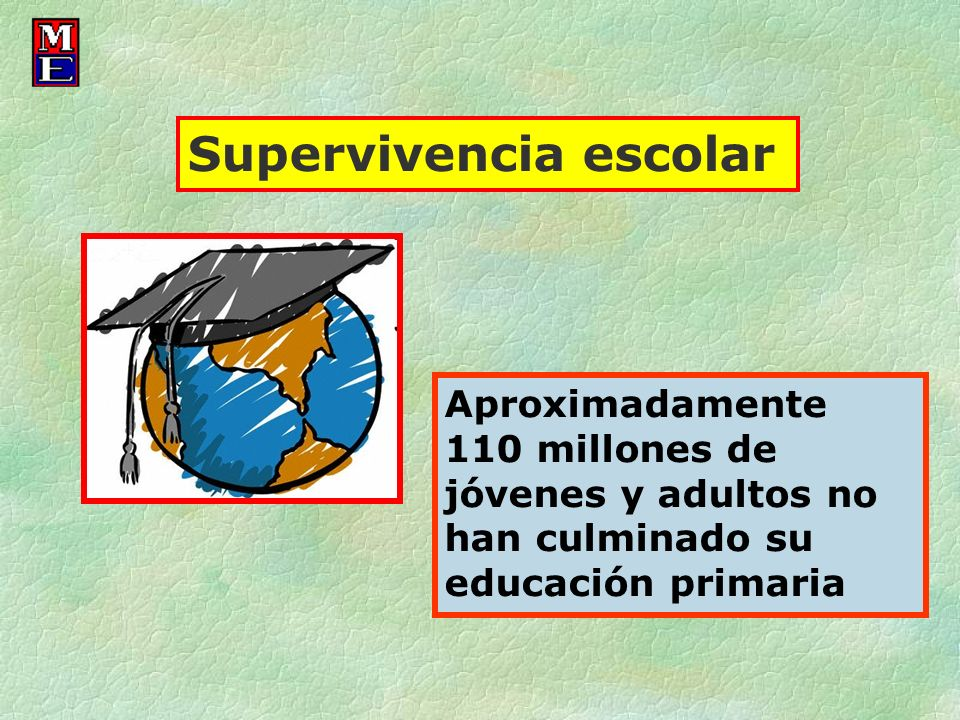 Supervivencia escolar
