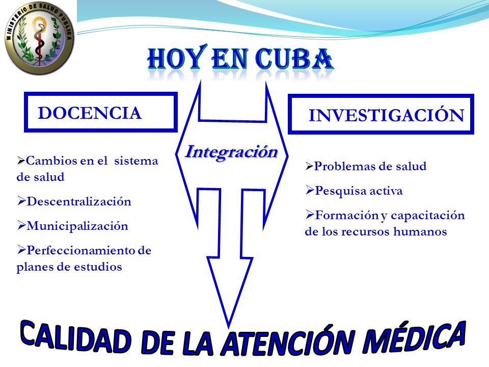 CALIDAD DE LA ATENCIÓN MÉDICA