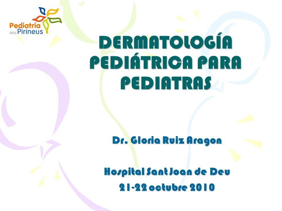 DERMATOLOGÍA PEDIÁTRICA PARA PEDIATRAS
