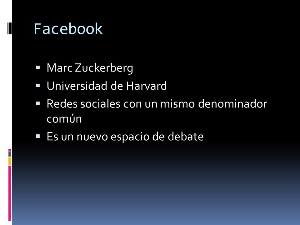 Facebook Marc Zuckerberg Universidad de Harvard