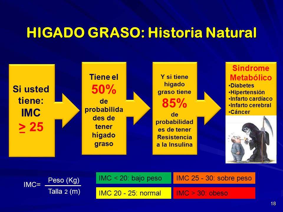 HIGADO GRASO y SINDROME METABOLICO - ppt video online