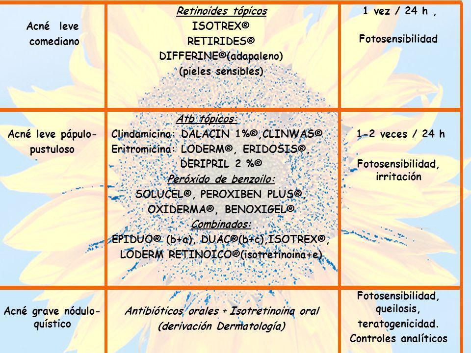 DIFFERINE®(adapaleno) (pieles sensibles) 1 vez / 24 h ,
