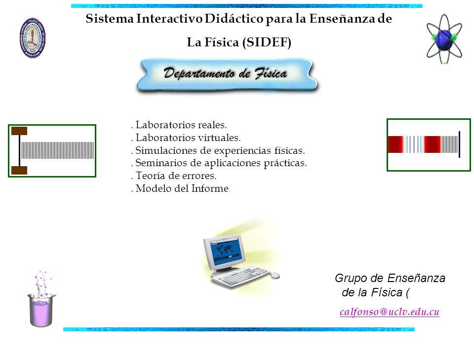 Sistema Interactivo Didáctico para la Enseñanza de