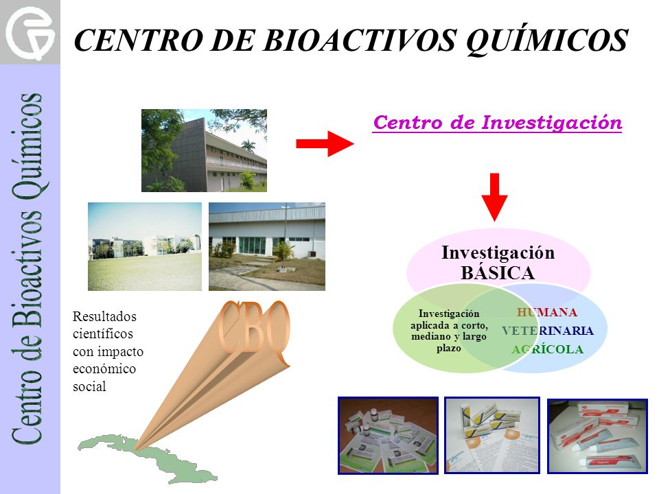 CENTRO DE BIOACTIVOS QUÍMICOS
