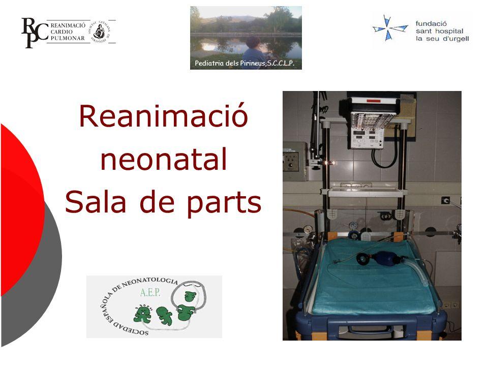 Reanimació neonatal Sala de parts