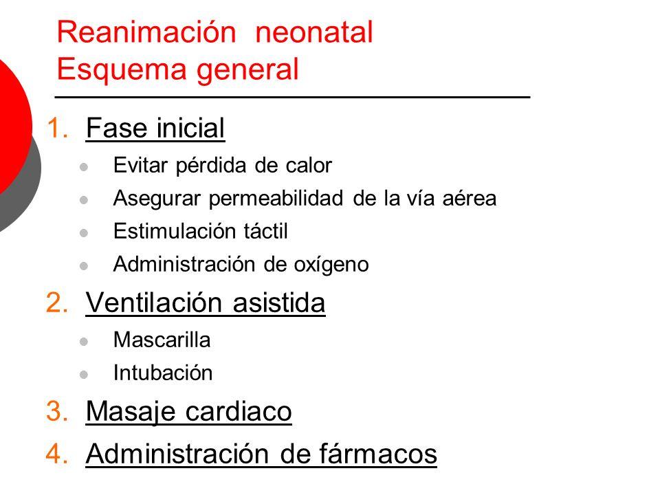 Reanimación neonatal Esquema general