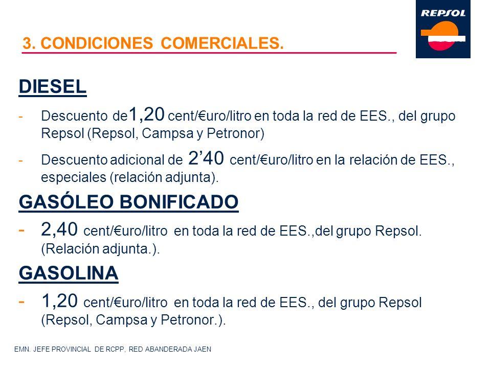3. CONDICIONES COMERCIALES.