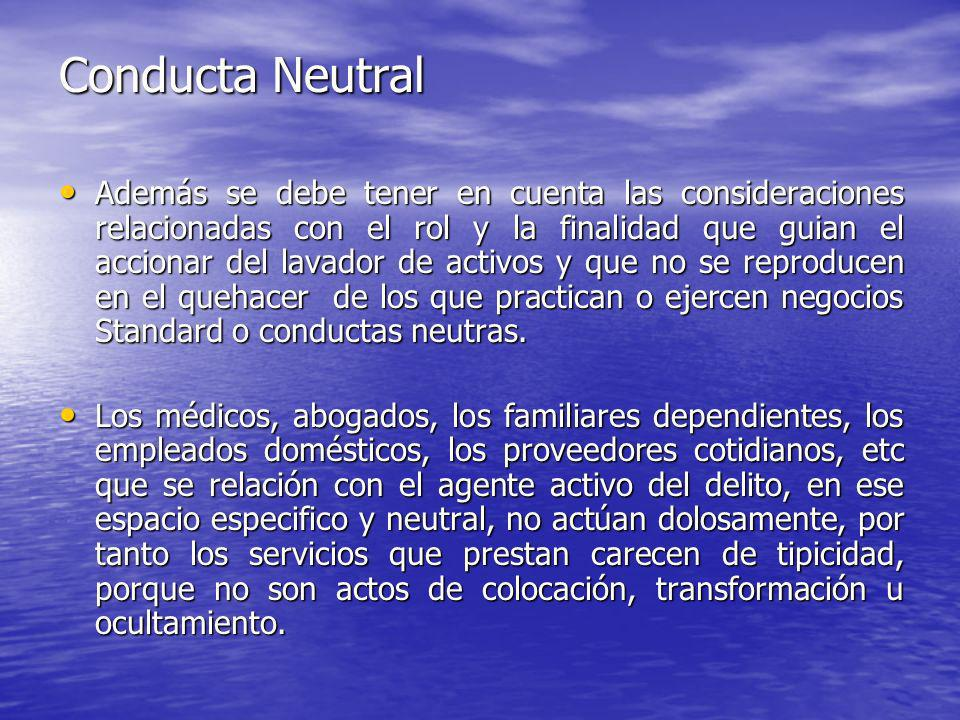 Conducta Neutral