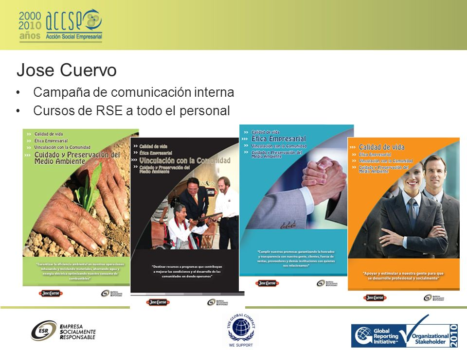 Jose Cuervo Campaña de comunicación interna
