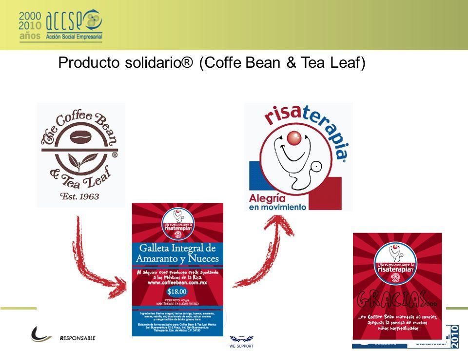 Producto solidario® (Coffe Bean & Tea Leaf)