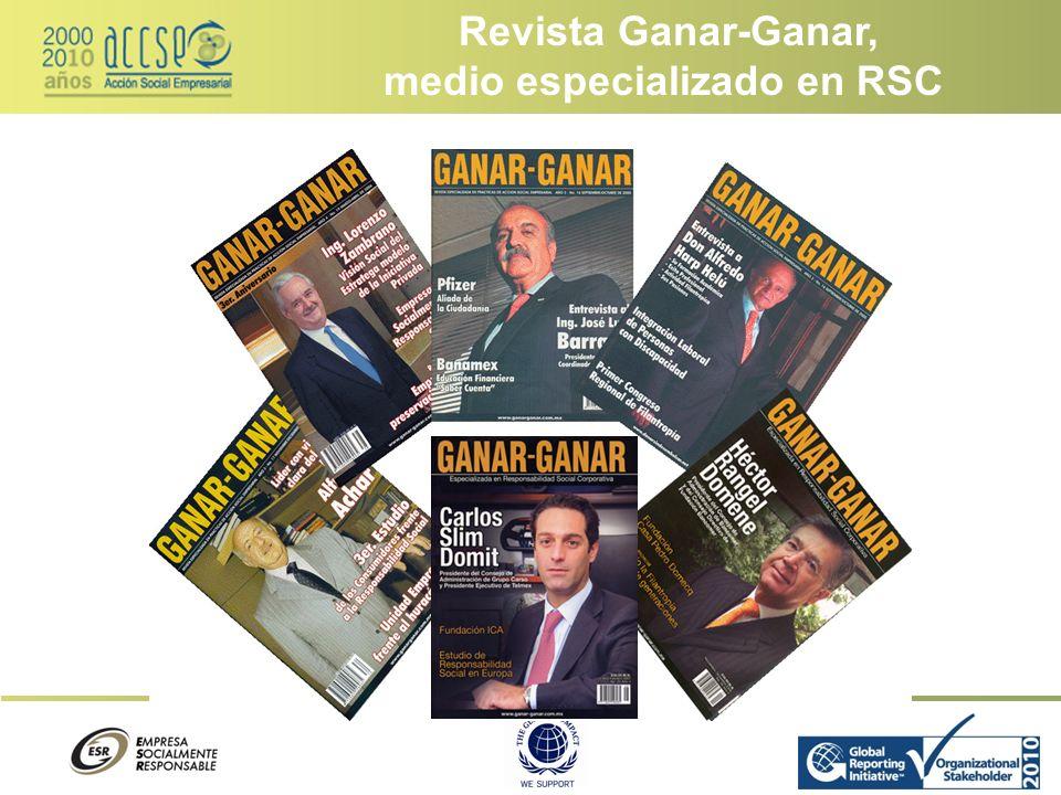 medio especializado en RSC