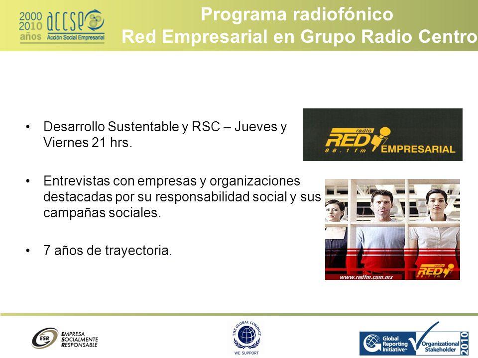 Red Empresarial en Grupo Radio Centro
